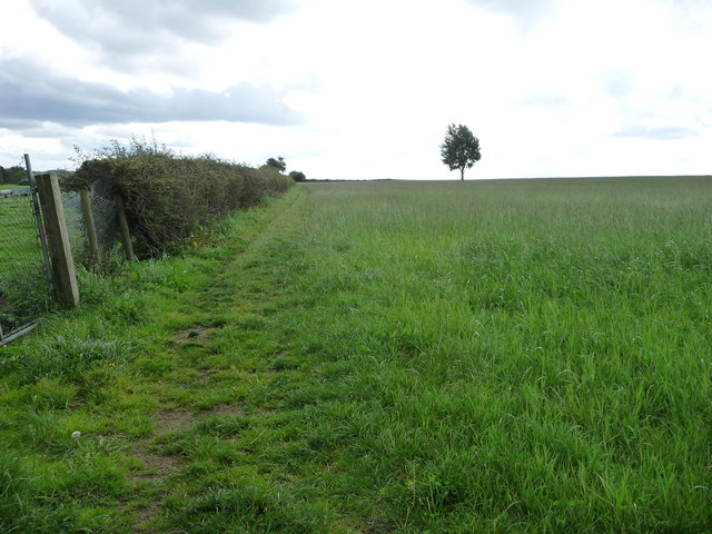 Public footpath from Church Lane to Stoney Lane