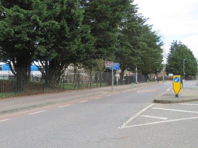 Start of High Street Chesterton