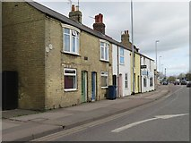TL4658 : Houses on the Newmarket Road by Given Up