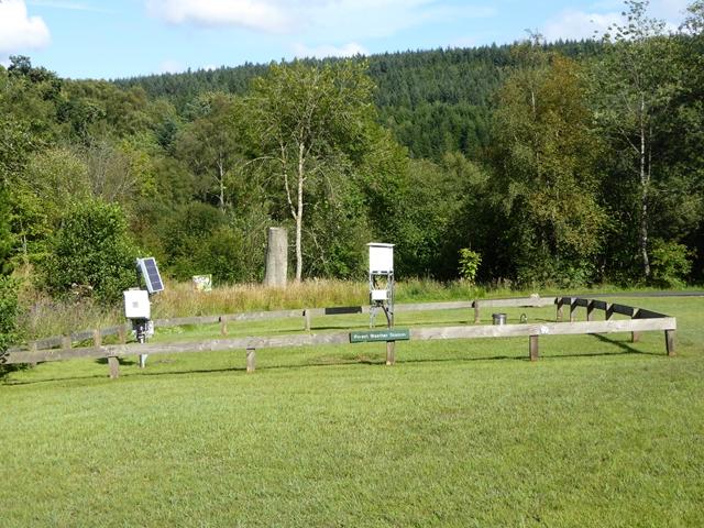 Weather station at Kielder Castle