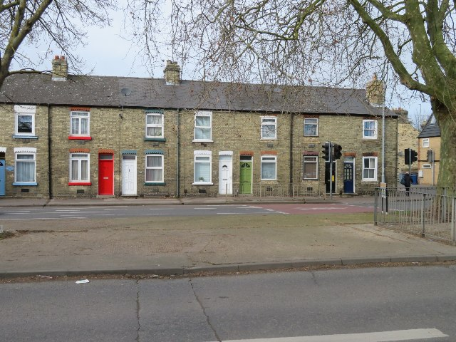 Houses on Newmarket Road