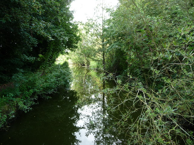Pinxton Arm of the Cromford Canal, looking west