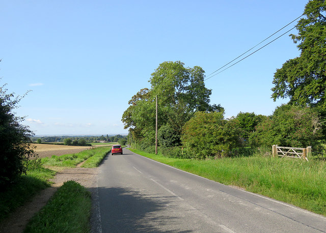 Down the hill to Stapleford