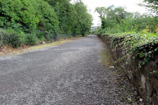 Path to Regent Gardens