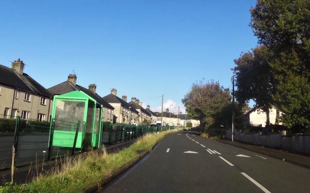 Ty'n Rhos bus stop on B4411