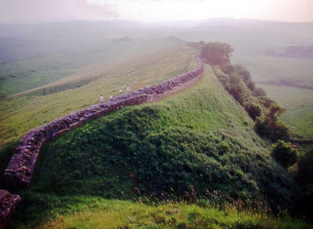 Hadrian's Wall at Thorny Doors