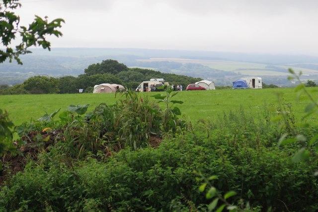 Campsite near Great Thorness