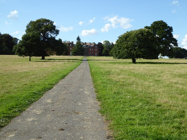 One of two drives in Chillington Park