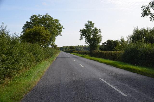 Lane near old RAF Bardney