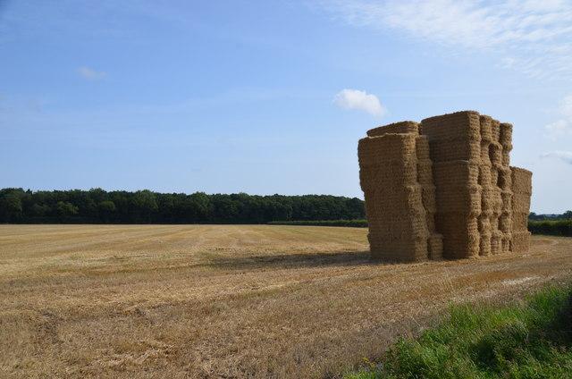 Haystack near Bucknall