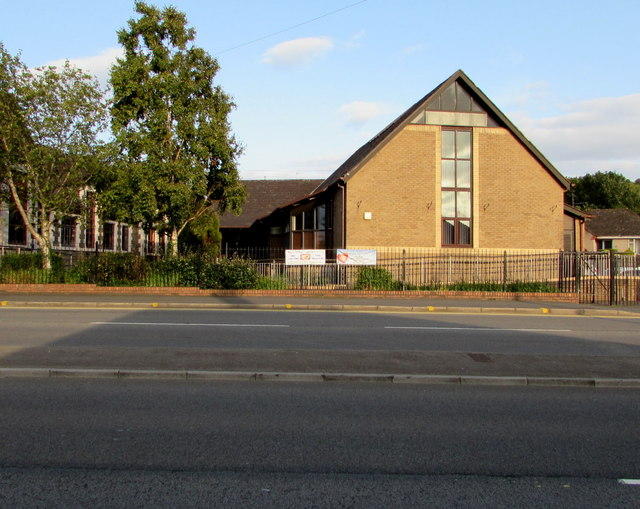 West side of Malpas Community Centre, Newport