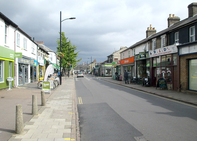 Cambridge: on Mill Road