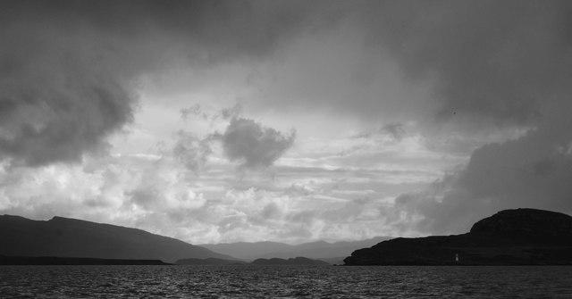 Loch Kannaird from Loch Broom