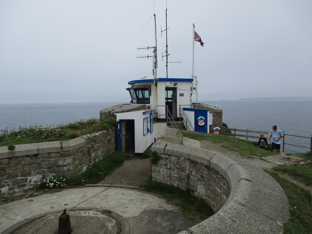 Gun  emplacement  and  Lookout  Station  St  Ives  Head