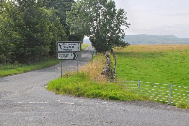 Road junction, Upperside