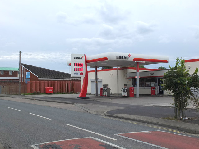 Essar Petrol Station, Bigdale Drive, Kirkby