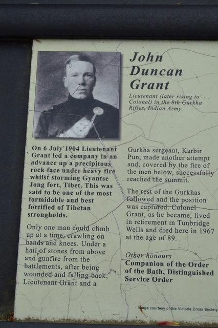 Victoria Cross Grove - John Duncan Grant VC