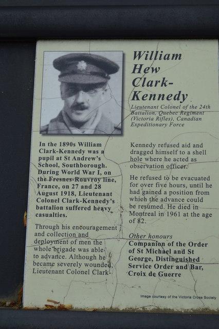 Victoria Cross Grove - William Hew Clark-Kennedy VC