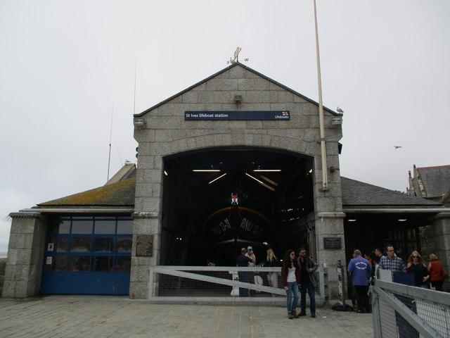 St  Ives  Lifeboat  Station