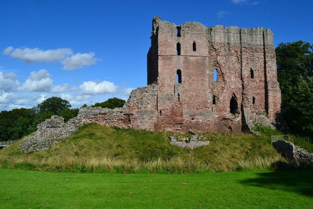 Norham Castle keep