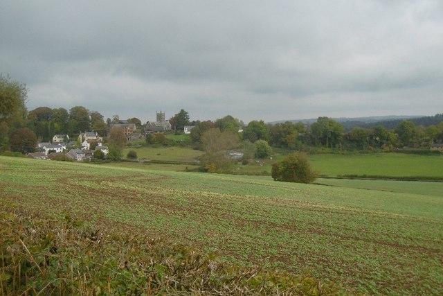 View towards Staunton