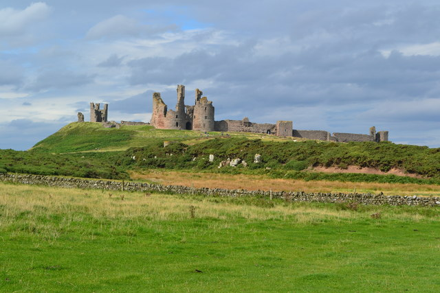 Dunstanburgh Castle from the south