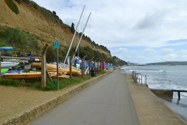 Promenade towards Sandown