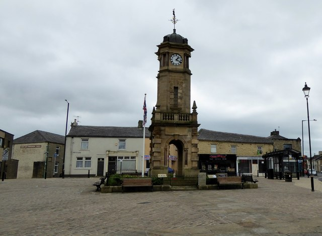 Town Hall Square, Great Harwood