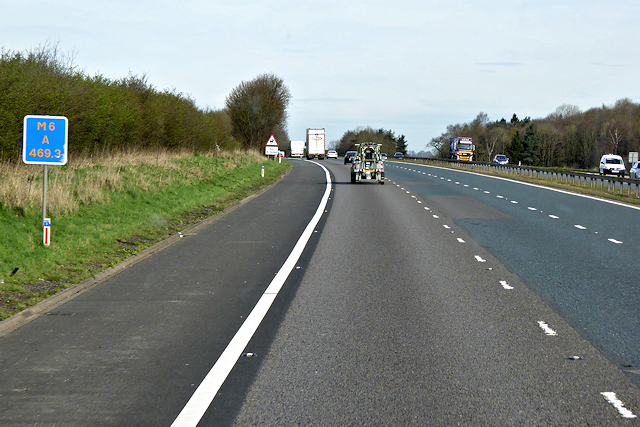 M6 near Plumpton