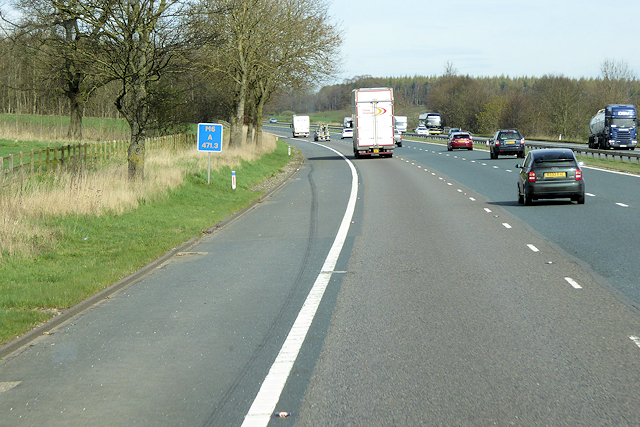 Northbound M6 near Calthwaite