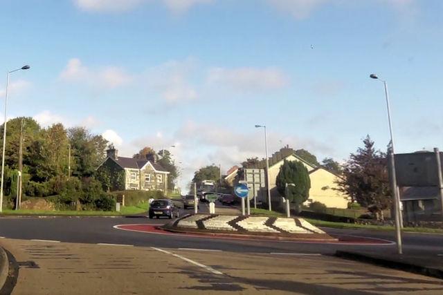Bontnewydd roundabout