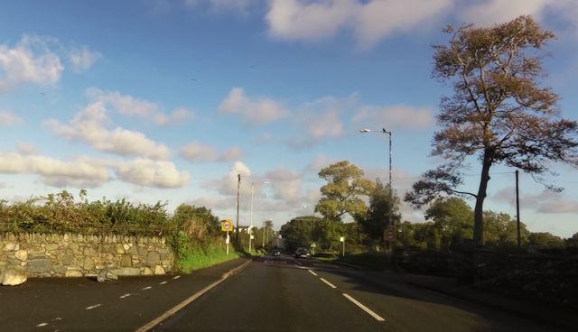 40mph signs leaving Bontnewydd on A487