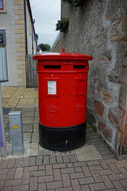 Post box, High Street, Alness