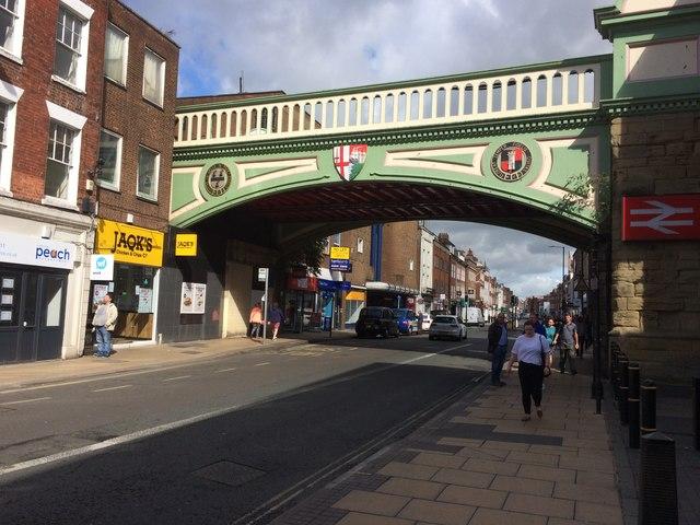 Foregate Street Railway Bridge