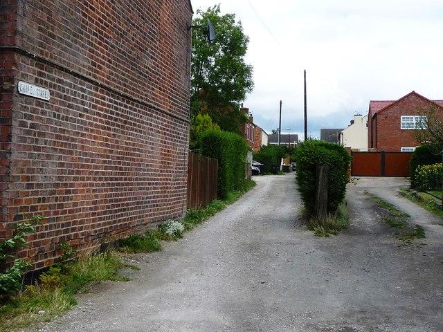 Chapel Street, off Portland Road