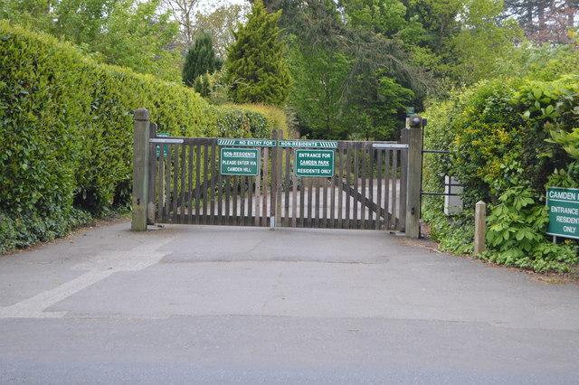 Camden Park entrance