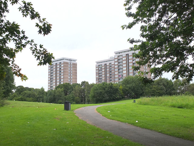 Quarry Green from Old Rough, Kirkby