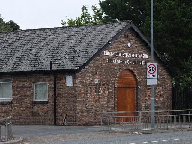 Kirkby Christian Fellowship, Old Rough Lane, Kirkby