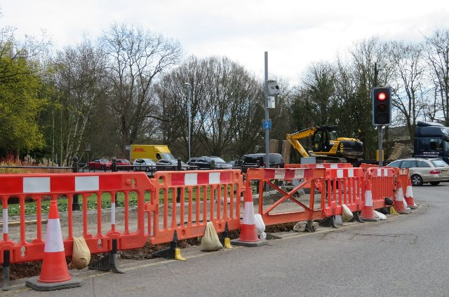 A new cycle path for Cambridge