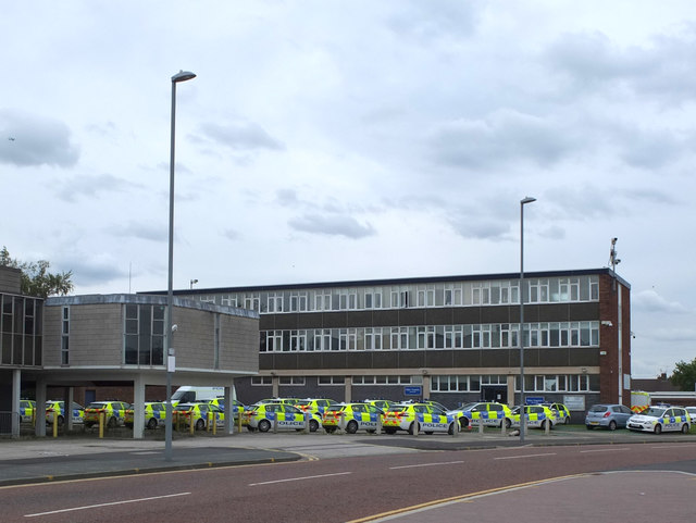 Kirkby Police Station, St Chad's Drive