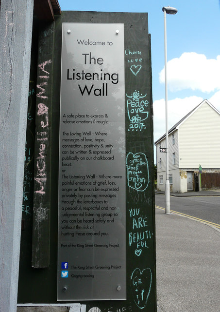 Information about The Listening Wall, King Street