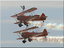 SD3036 : Breitling Wing Walkers at Blackpool by David Dixon