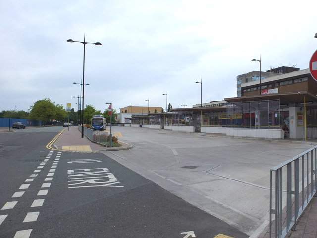 Kirkby Bus Station, Cherryfield Drive