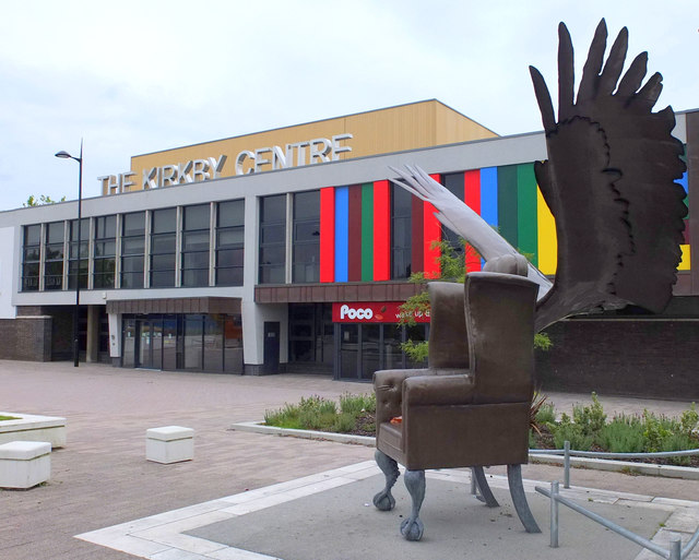 Public art at The Kirkby Centre