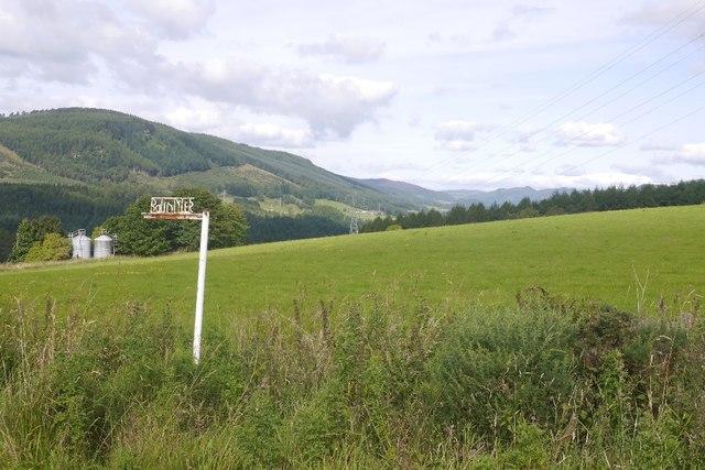 Farm sign, Balintyler