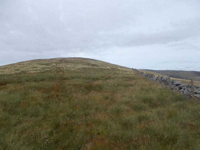 Approaching Garelet Hill
