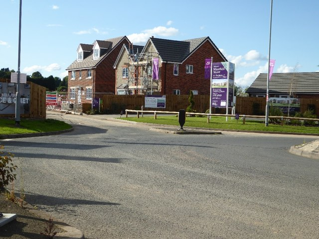 Taylor Wimpey development at Codsall