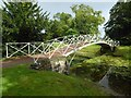 SO8744 : Early iron bridge in Croome Park by Philip Halling
