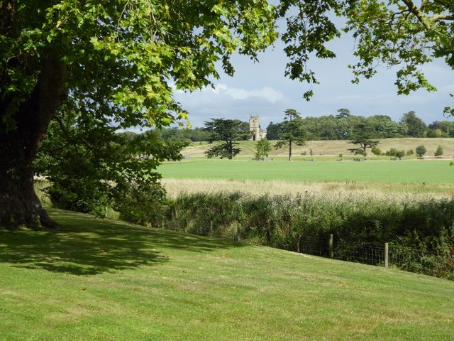 View across Croome Park