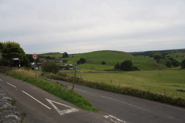 Road Junction adjacent to Jericho Farm